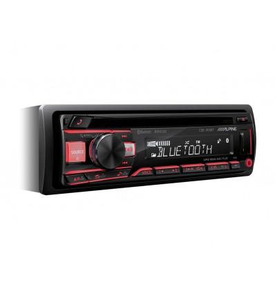 Autoradio Alpine CDE-203BT con Bluetooth