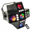 Ibiza Light CROSS GOBOFX Efecto Iluminación 2 en 1
