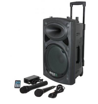 PORT8UHF-BT Altavoz portatil con bateria IbizaSound