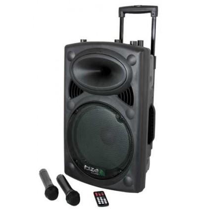 PORT15UHF-BT Altavoz Portátil Ibiza Sound