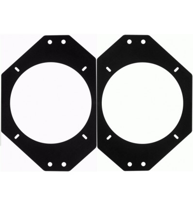 JEEP Wrangler 97-06 juego soporte altavoz 130mm ta