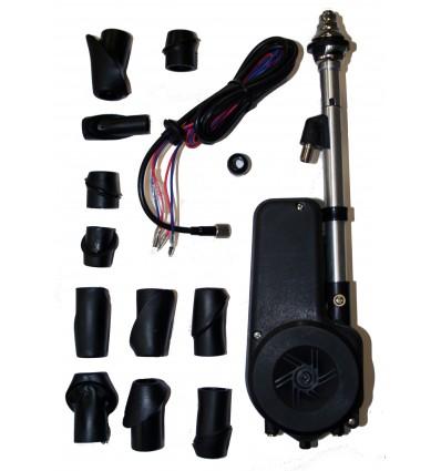 Antena automática con Kit Cabezales Negra