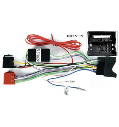 AUDI 07+ conector Fakra Infinity System altavoces