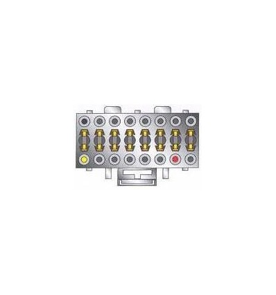DENON 16 pins cable Original Radio ISO