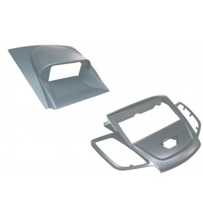 FORD Fiesta 08+ Marco 1DIN 2DIN Gris con Display G