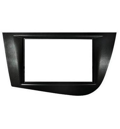 SEAT Leon 05-13 Marco DOBLE ISO Negro (Opcional K