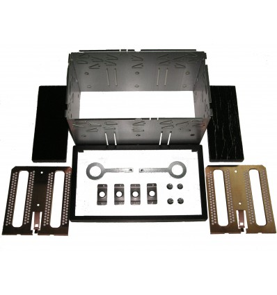 Kit Faja metálica Doble DIN 103 x 182mm Alto x Anc