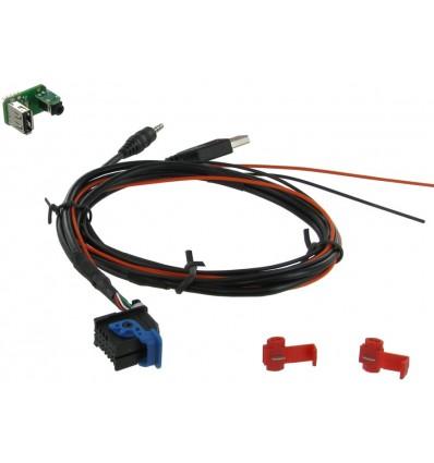 Cable extensión puerto USB-AUX FIAT / ALFA ROMEO /