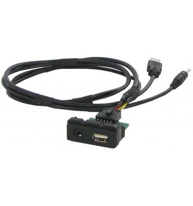 Cable extensión puerto USB-AUX MAZDA 2 - 3 - 5 - 6