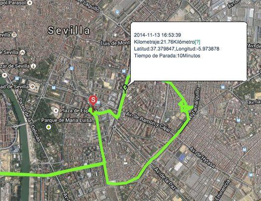 Localización GPS y control de flotas